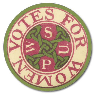 WSPU Votes For Women Suffragette Coaster