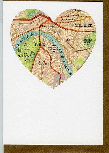 The National Archives Heart Greetings Card