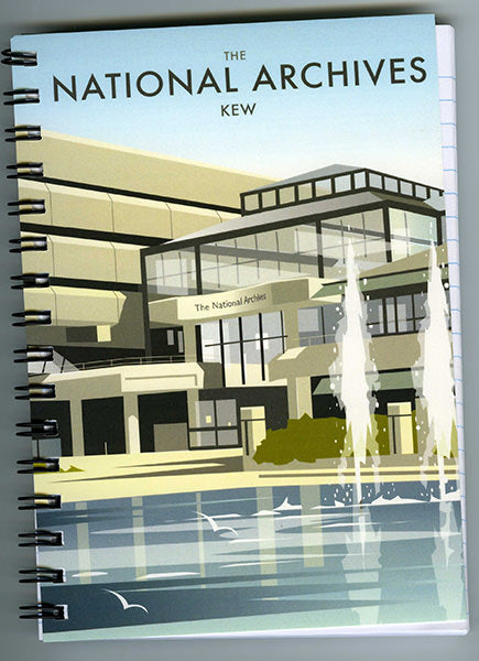 The National Archives A5 Notebook