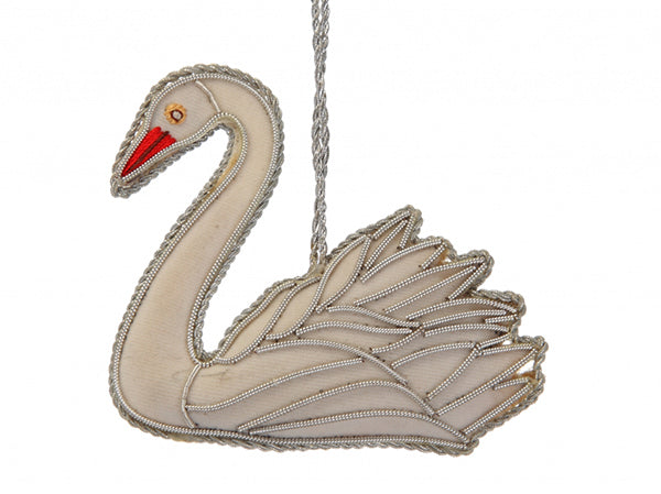 Swan Christmas Tree Decoration