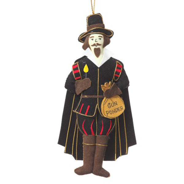 Guy Fawkes Christmas Tree Decoration