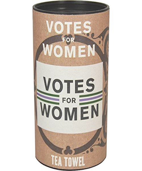 'Votes For Women' Tea Towel in a Tube