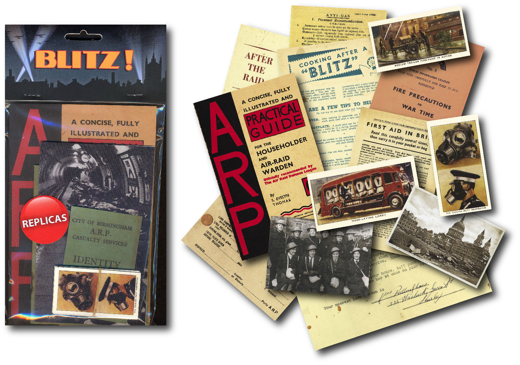 Blitz Replica Document Pack