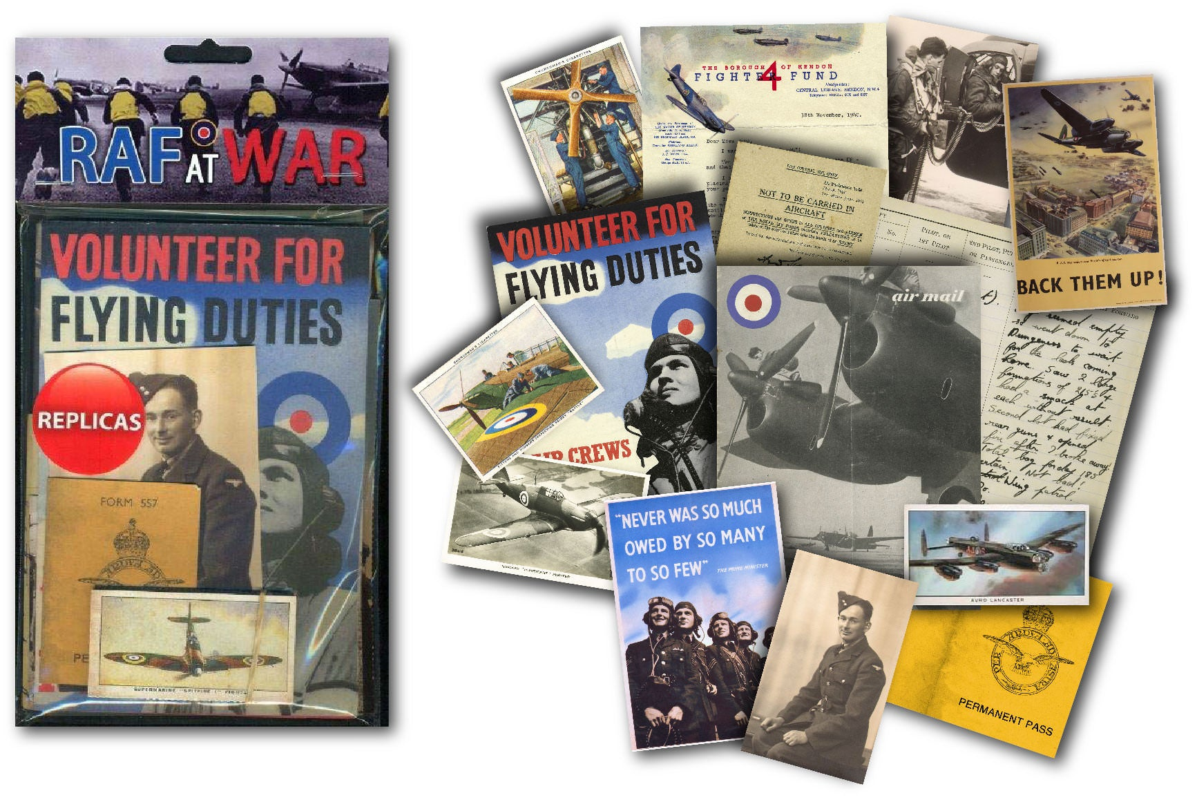 RAF at War: Replica Document Pack