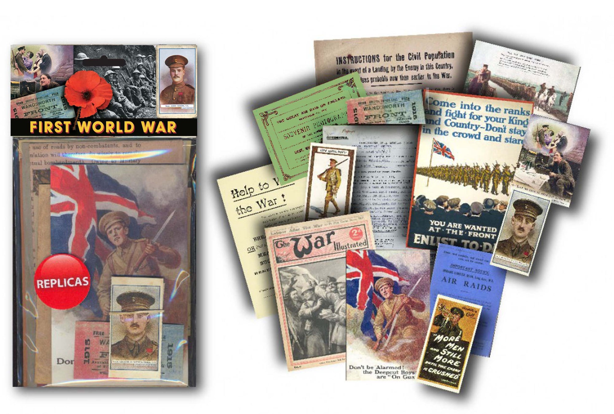 First World War: Replica Document Pack
