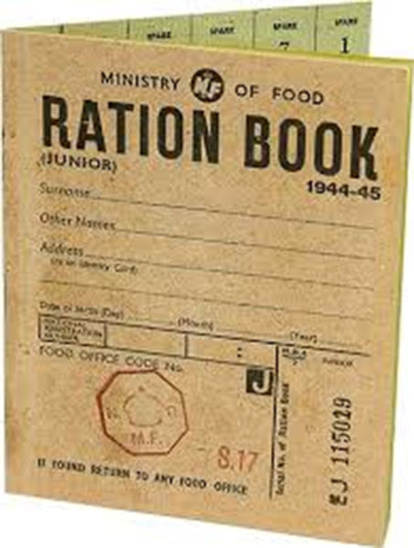 Replica Ration Book