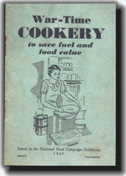War-time Cookery 1940 Replica Booklet