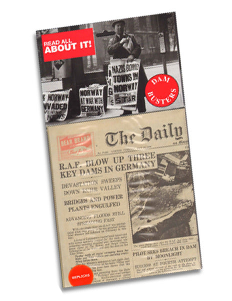 Dam Busters Replica Newspaper