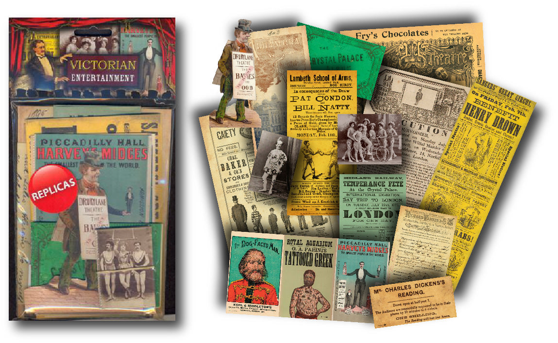 Victorian Entertainment: Replica Document Pack