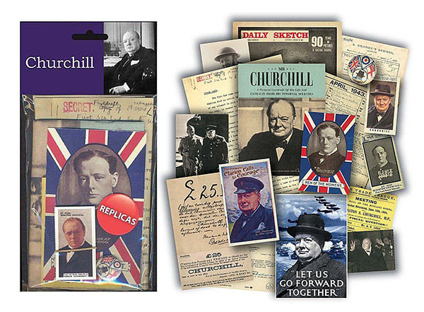 Winston Churchill Replica Document Pack