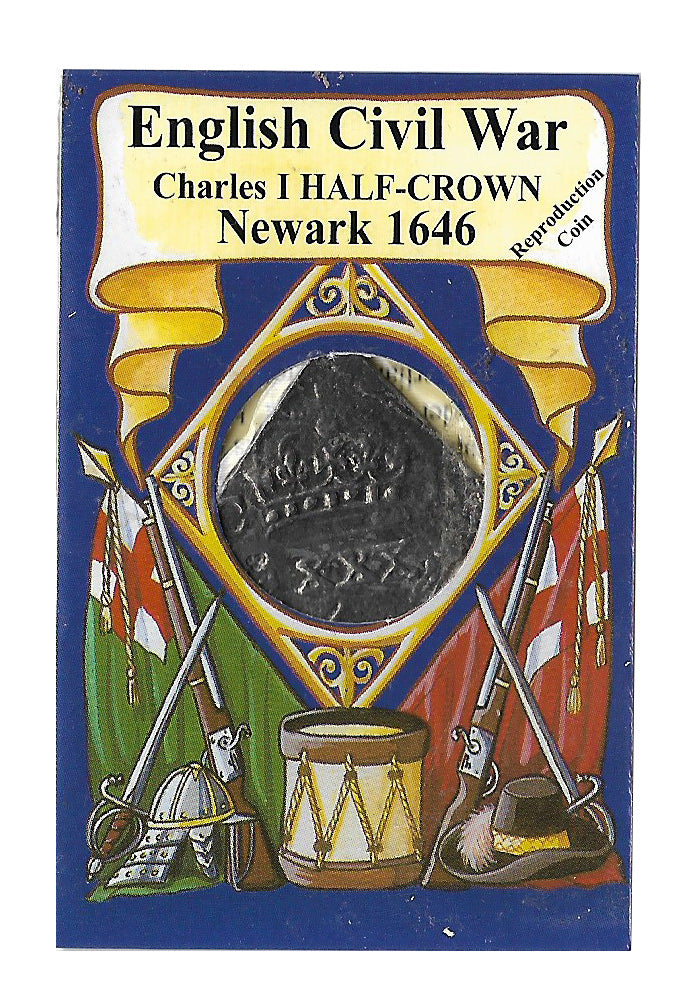 English Civil War Charles I Half Crown Reproduction Coin