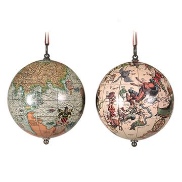 The Earth And The Heavens Hanging Globes