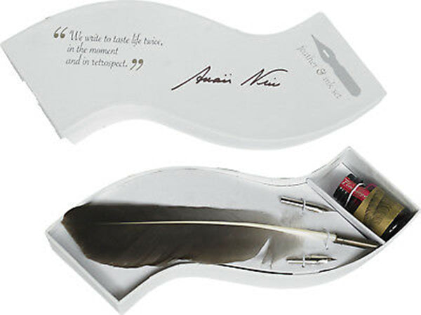 Feather Writing Set