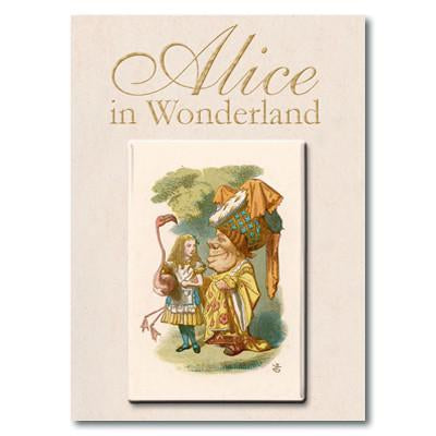 Alice and the Queen Fridge Magnet