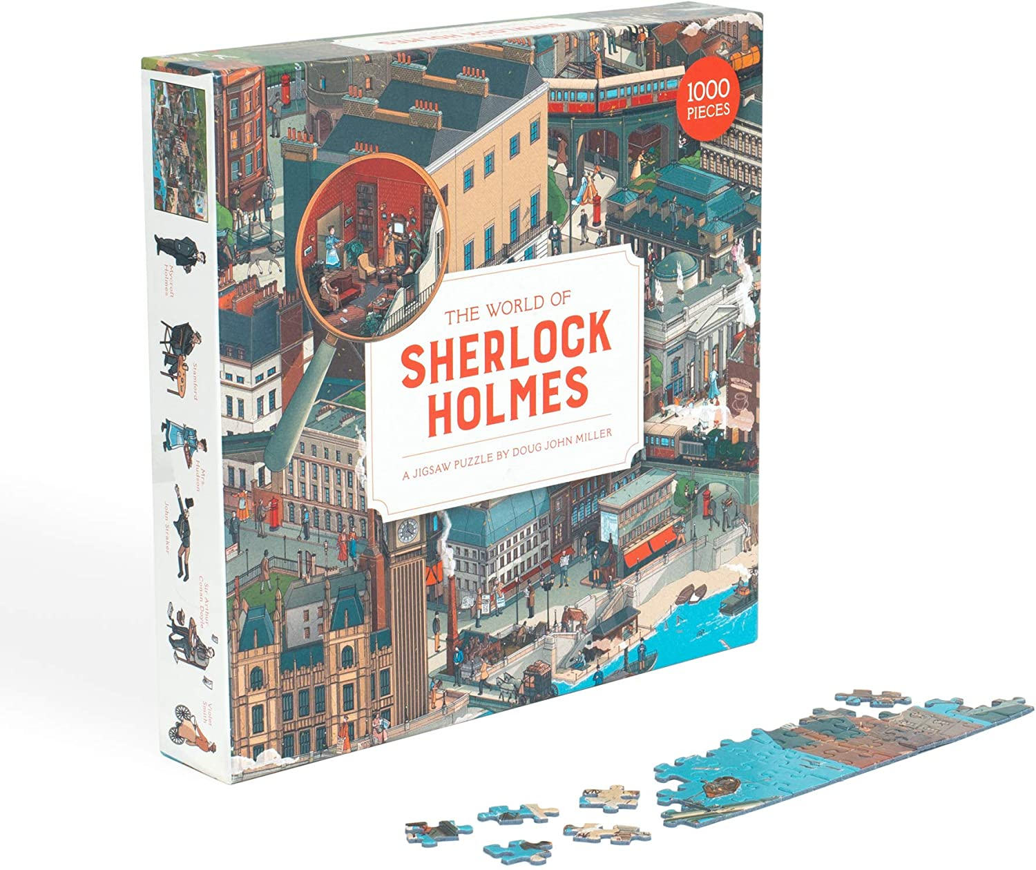 The World of Sherlock Holmes : A Jigsaw Puzzle