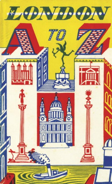 Cover of London A to Z: 1953 Replica Edition