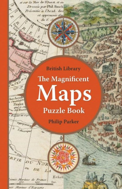 Jacket  of The Magnificent Maps Puzzle Book