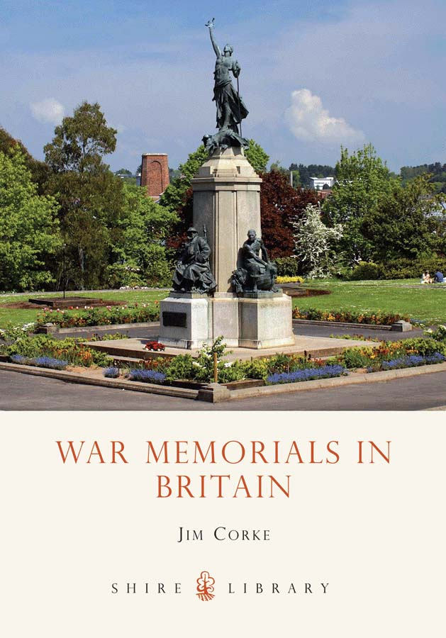 Cover of War Memorials in Britain: Shire Library