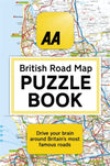 Cover of The AA British Road Map Puzzle Book