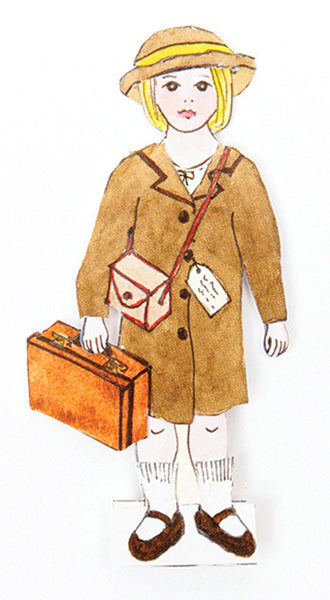 Dress Up History Evacuee Doll