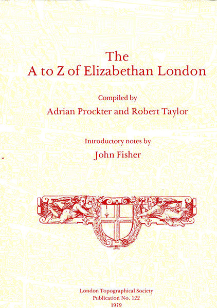 Cover of The A-Z of Elizabethan London