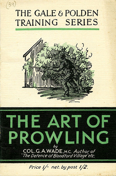 Cover of The Art of Prowling: The Gale & Polden Training Series