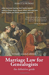 Cover of Marriage Law for Genealogists: The Definitive Guide