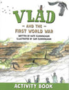 Cover of Vlad and The First World War Activity Book