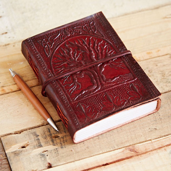 Handmade Leather Journal - Small