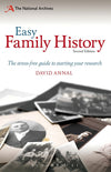 Cover of Easy Family History: The Stress-Free Guide to Starting Your Research