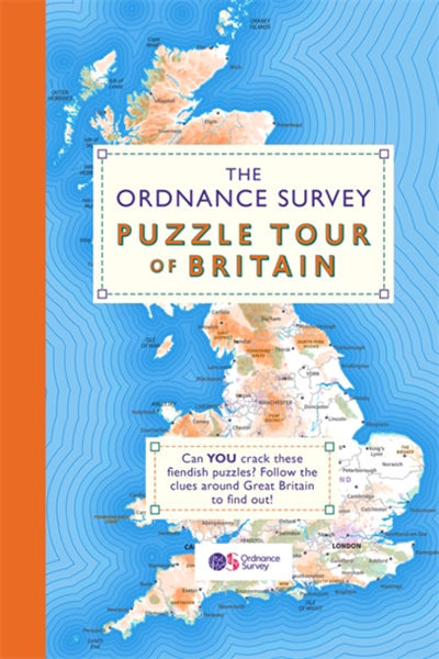 Cover of The Ordnance Survey Puzzle Tour of Britain Book
