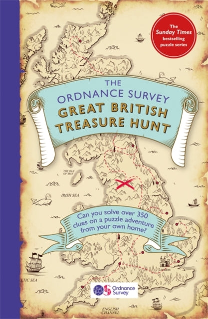 Cover of The Ordnance Survey Great British Treasure Hunt Puzzle Book
