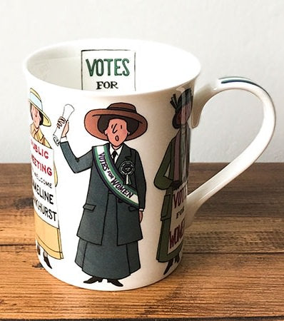 Suffragette 1918 Bone China Mug