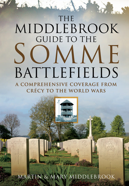 Jacket of The Middlebrook Guide to the Somme Battlefields