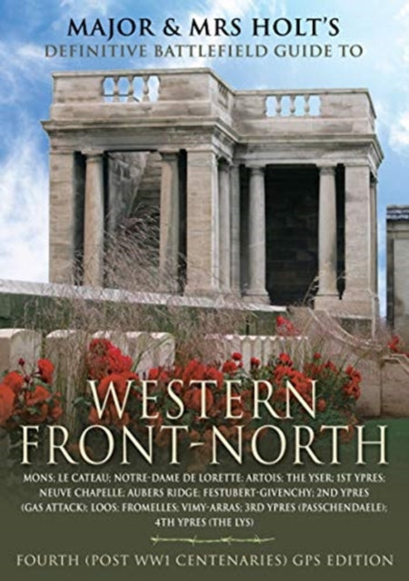 Jacket of Major and Mrs Holt's Definitive Battlefield Guide to Western Front North