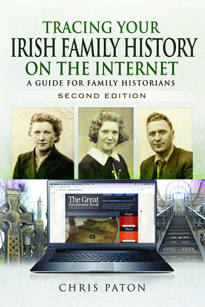 Cover of Tracing Your Irish Family History on The Internet: A Guide for Family Historians