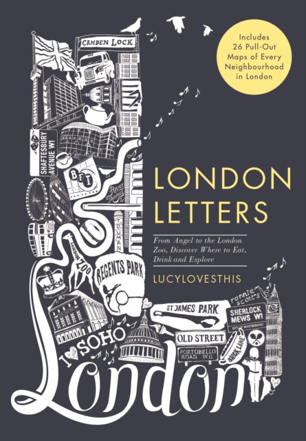 Cover of London Letters: 26 Pull Out Maps in Slipcase