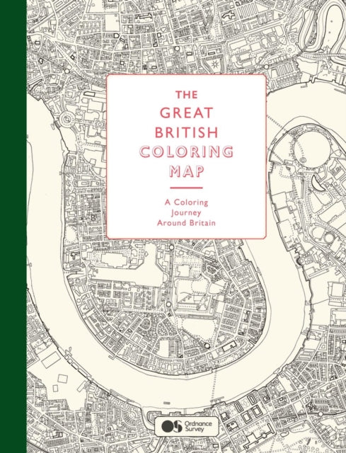 The Great British Colouring Map: A Colouring Journey around Britain