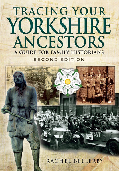 Cover of Tracing Your Yorkshire Ancestors: A Guide for Family Historians