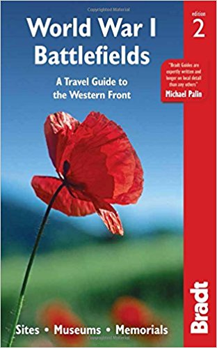 Jacket for World War I Battlefields A Travel Guide to the Western Front