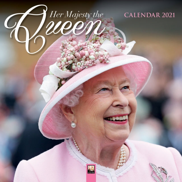 2021 'Her Majesty the Queen' Wall Calendar