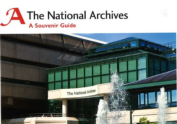 Cover of The National Archives: A Souvenir Guide