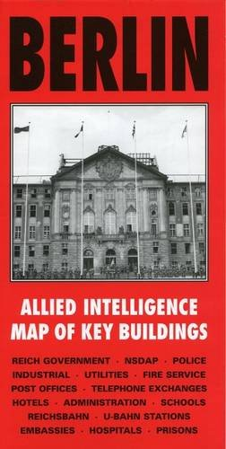 Cover of Berlin Allied Intelligence Map