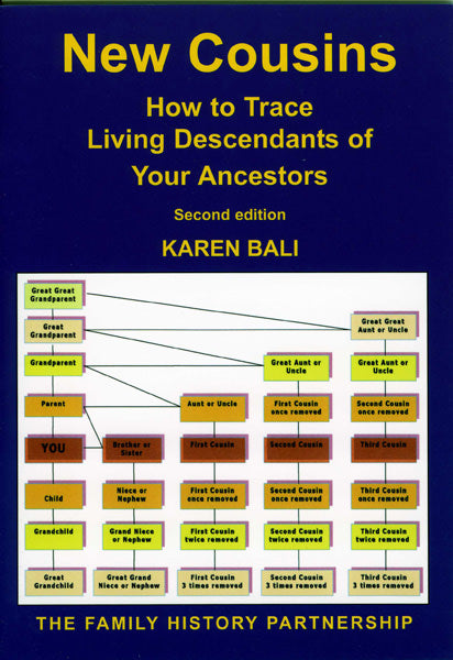 Cover of New Cousins: How to Trace Living Descendants of Your Ancestors