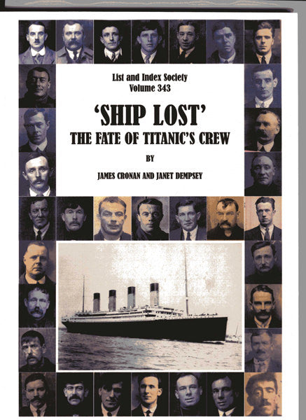 Cover of Ship Lost: The Fate of Titanic's Crew