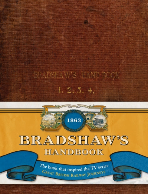 Cover of Bradshaw's Handbook: 1863 Facsimile Edition