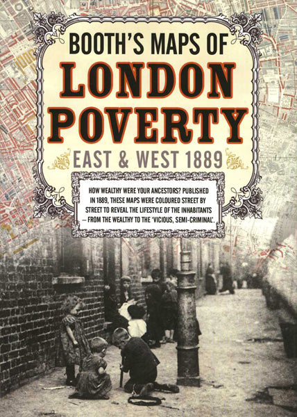 Cover of Booth's Maps of London Poverty