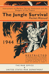 Cover of The Jungle Survival 1944 Pocket Manual
