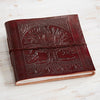 Handmade Leather Journal - Medium