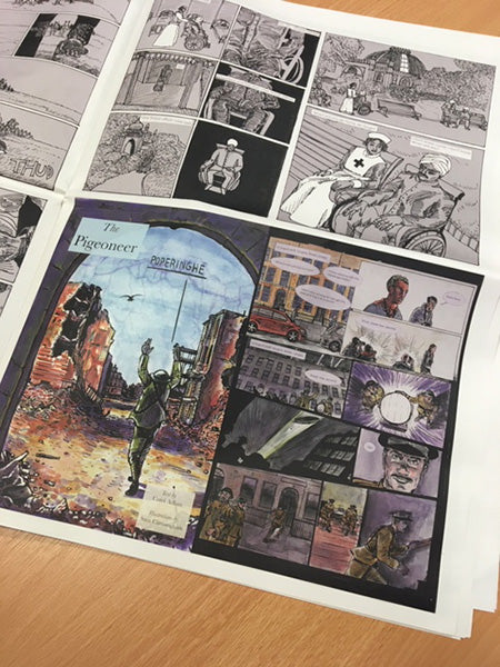 Armistice And Legacy : A Collection of Graphic Stories Inspired by Records held at The National Archives